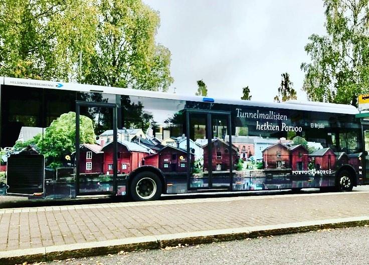 Bussimainonta on tehokkainta ulkomainontaa | Ulkomainosyhtiö Laulava Ovipumppu