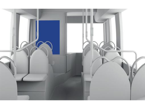 Kuljettajanselusta | Bussimainonta | Ulkomainosyhtiö Laulava Ovipumppu
