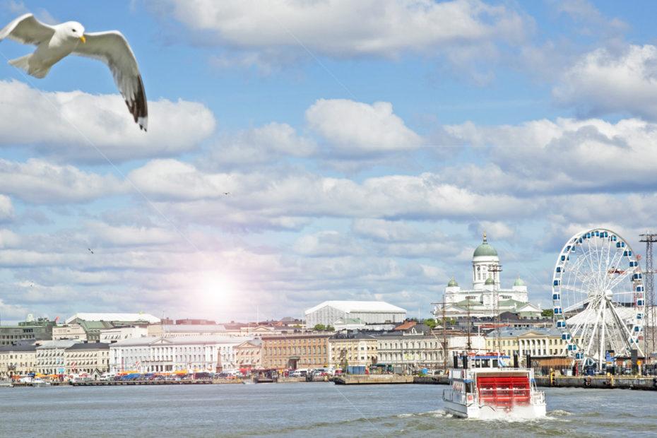 Helsinki kesä ulkomainonta