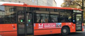 Kalustetalo Masku | Bussimainos - Ulkomainosyhtiö Laulava Ovipumppu